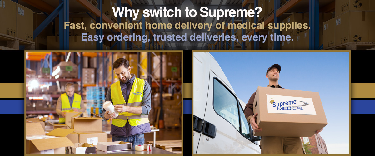 Medical Supply SpecialistsThat You Can Trust</span>