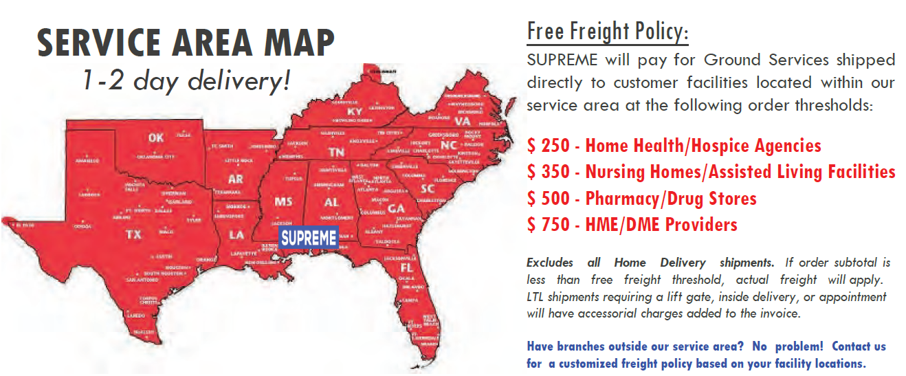 supreme-medical-free-freight-policy